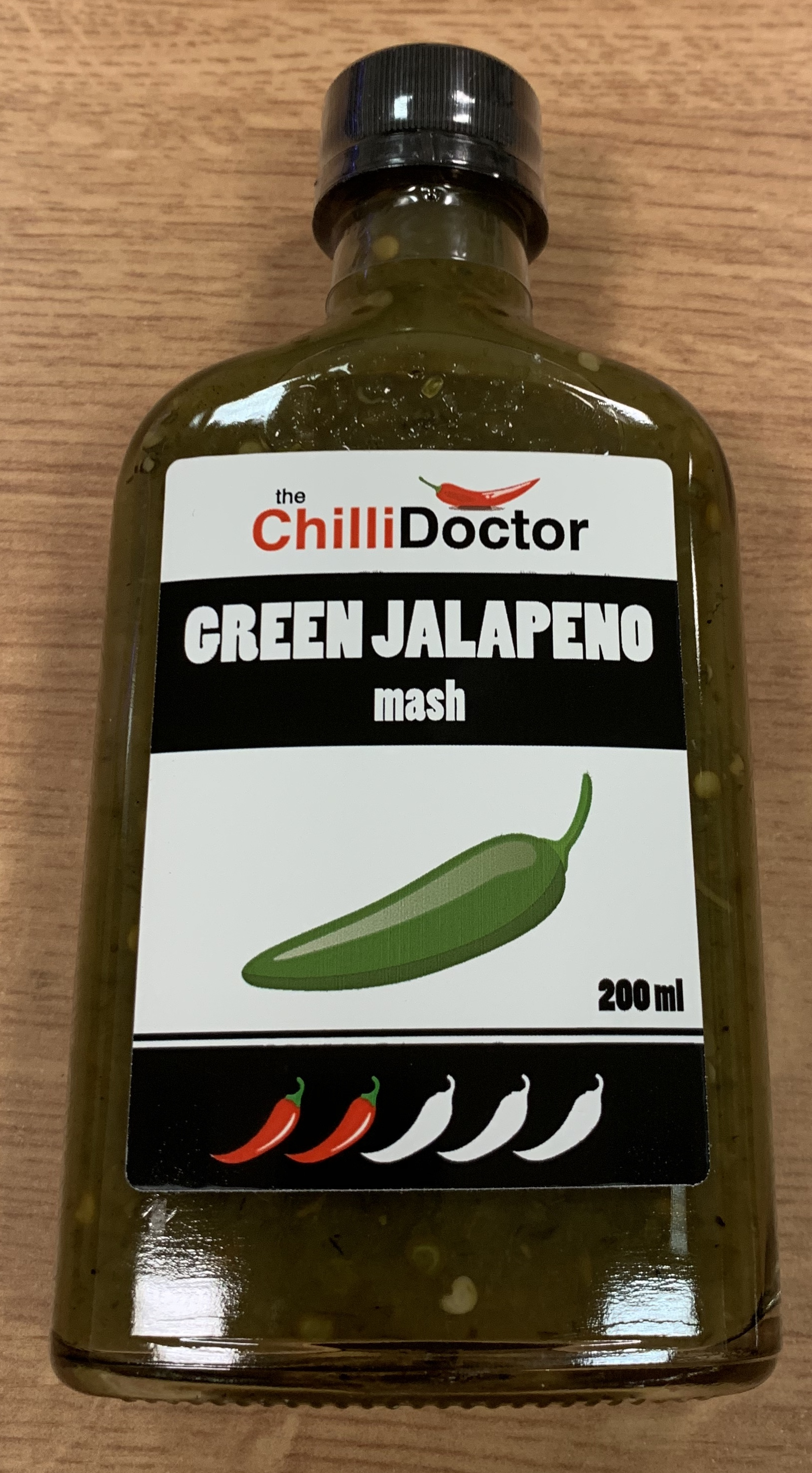 Green Jalapeño mash 200 ml